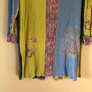 Soft Surroundings Tops - Soft Surroundings light weight long cardigan med